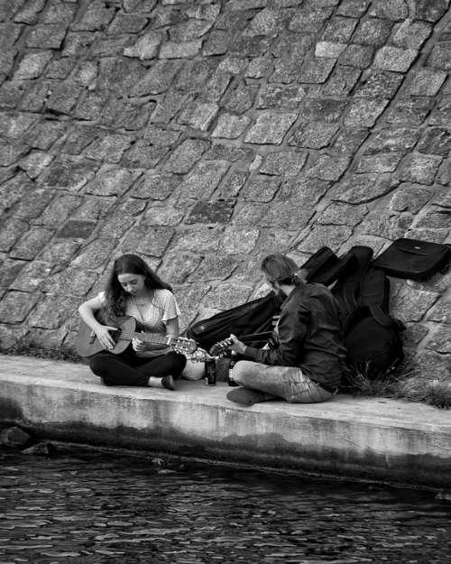 Guitar Water Music Musician Summer Instrument