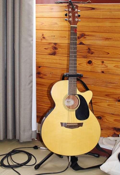 Guitar Music Musical Instrument Strings Play Guitar