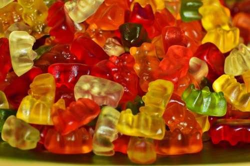 Gummibär Gummibärchen Gummi Bear Bear Delicious