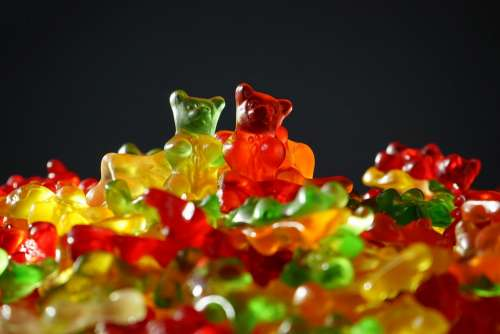 Gummibärchen Gummi Bears Gummi Bear Bear Sweetness