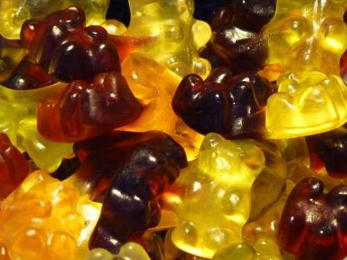 Gummibärchen Gummi Bears Fruit Jelly Sweetness