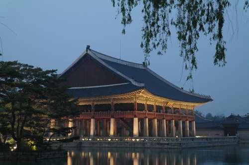 Gyeongbok Palace Palace Traditional Korea
