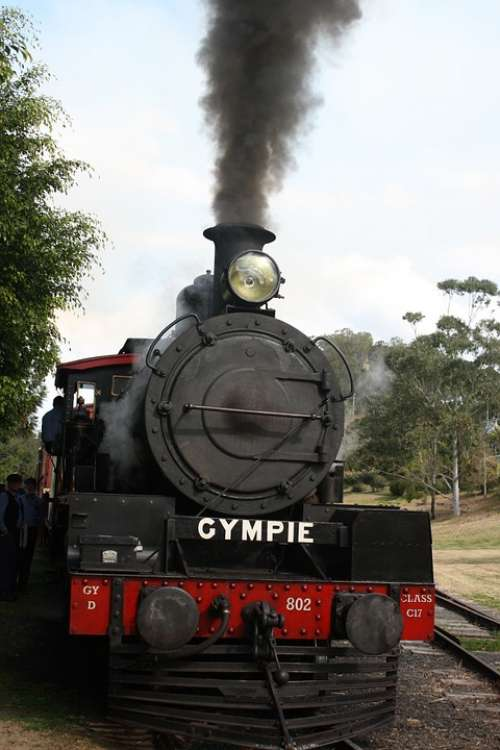 Gympie Steam Train Rattler