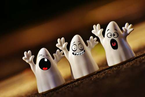 Halloween Ghosts Happy Halloween Ghost Autumn