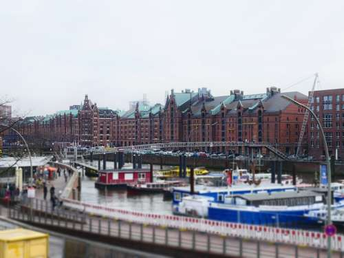 Hamburg Miniature Elbe River Ship Boat