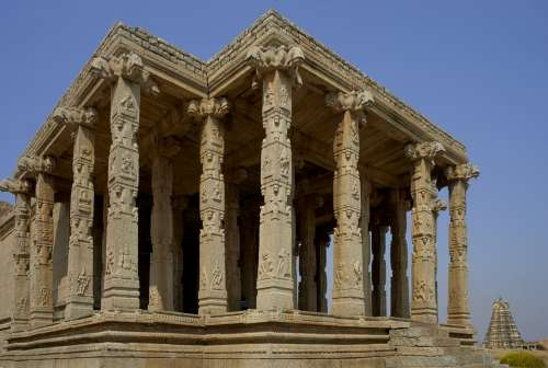 Hampi Architecture India Old Culture Historic