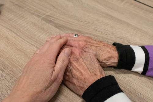 Hand Woman Adult Hands Elderly Self-Reliance