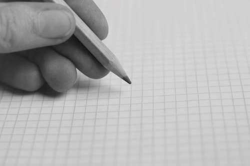 Hand Pen Paint Draw Write Paper Leaf Creative