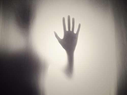 Hand Silhouette Shape Horror Creepy Scary Help