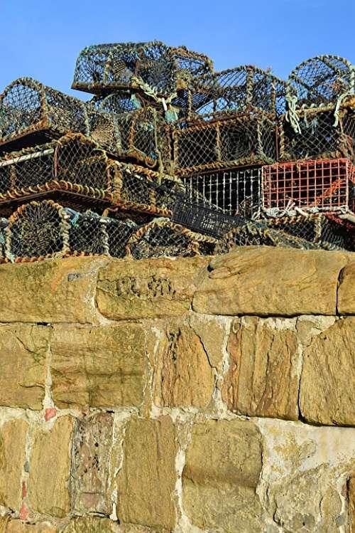 Harbour Wall Creels Port Coast Harbor