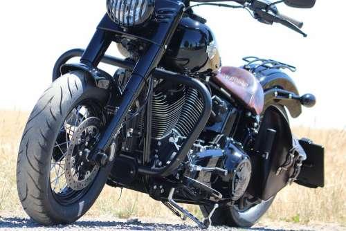 Harley Davidson Motorcycle Biker