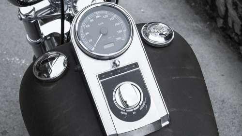 Harley Davidson Tank Motorcycle Chrome Machine