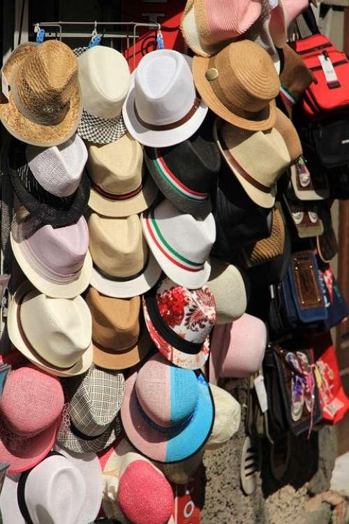 Hats Kiosk Straw Hat Coneflower Headwear
