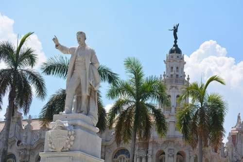 Havana Cuba Historical Urban Landmark Architecture