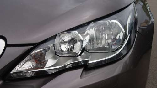 Headlights 308 Peugeot Vehicle Car