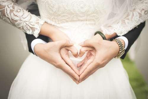 Heart Wedding Marriage Love Hands Romantic Marry