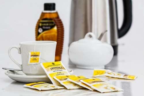 Herbal Tea Teabags Beverage Camomile Drink