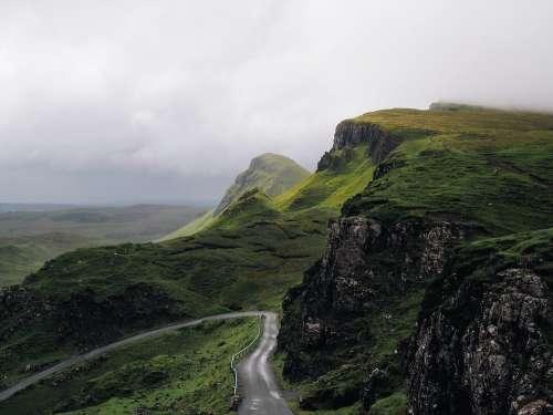 Highlands Mountain Beautiful Landscape Landscape