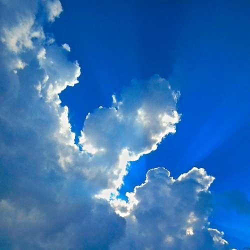 Himmel Blue Sky Cloud Spirituality Spiritual Power
