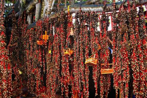 Hindu Temples Bells Hinduism Religion Mysterious