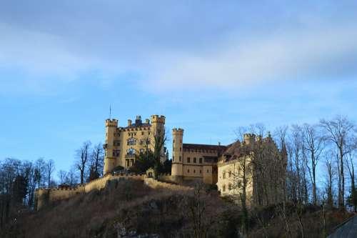 Hohenschwangau Castle Füssen Germany Fairytale