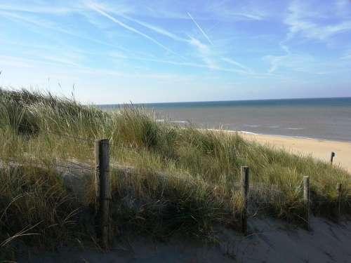 Holland Beach Coast Vacations Sea Sand North Sea