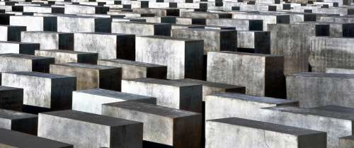Holocaust Memorial Berlin Monument Concrete
