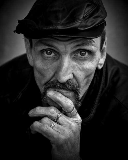 Homeless Man Poverty Male Poor Homelessness Hobo
