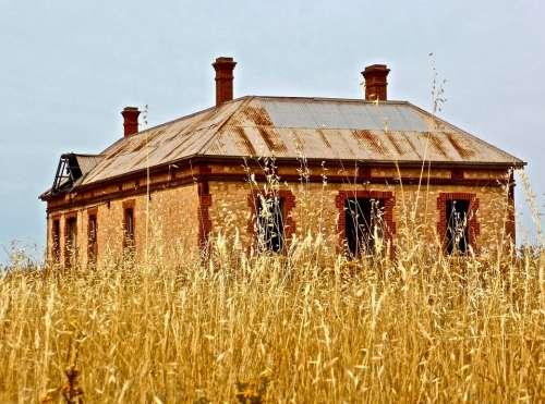 Homestead Abandoned Historic Rural Deserted