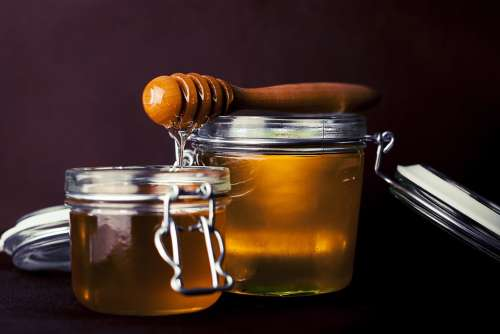 Honey Sweet Tasty Food Delicious Healthy Natural