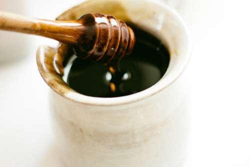 Honey Dipper Honey Bee Honey Dipper Wooden Pot