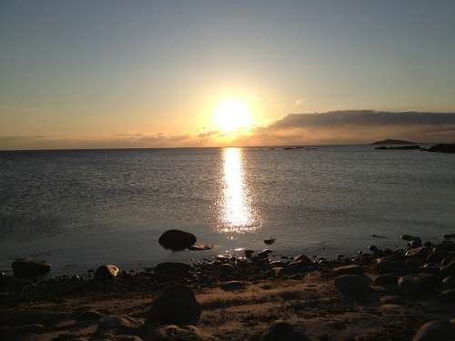 Hönö Beach Sunset