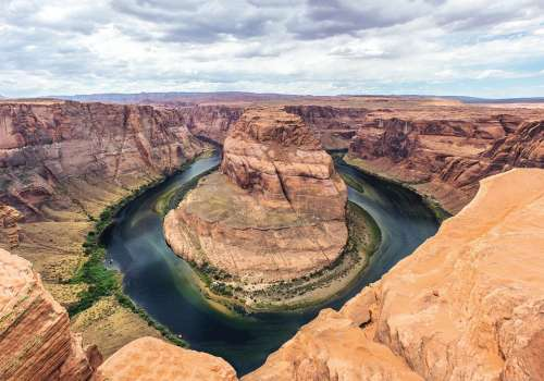Horseshoe Bend Arizona Rocks Natural Landscape
