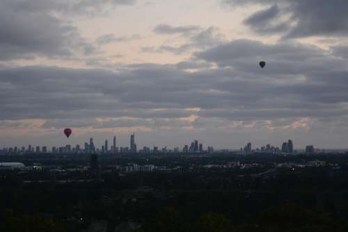 Hot Air Balloon Gold Coast Queensland Adventure