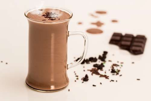 Hot Chocolate Drink Dairy Winter Milk Sweet Cocoa