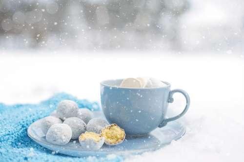 Hot Chocolate Cozy Winter Dessert Warm Snow Mug