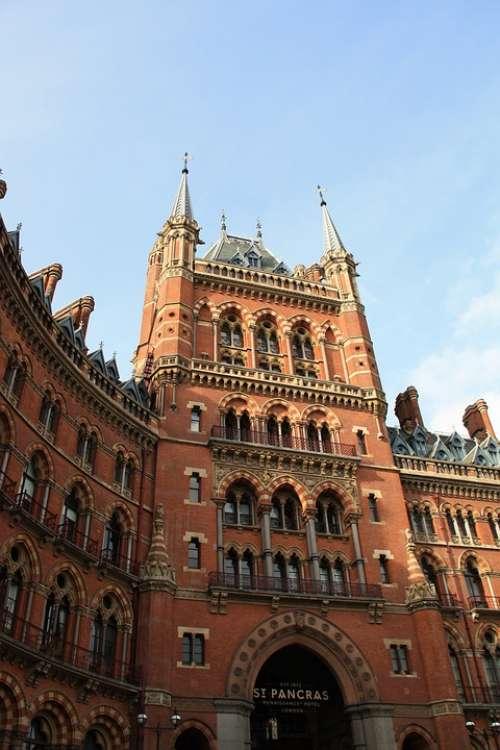 Hotel London Tourist Architecture England City