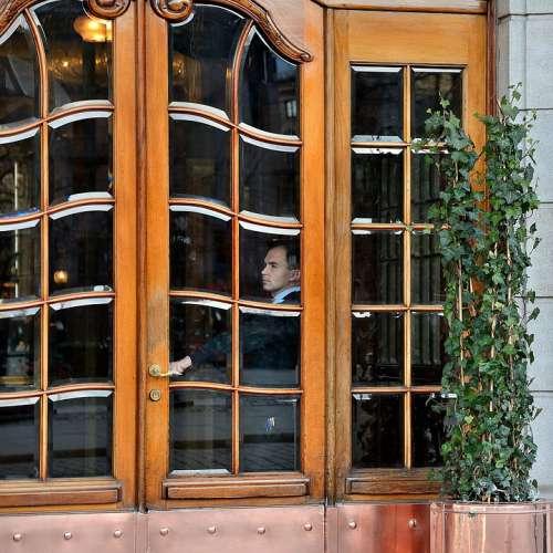 Hotel Door Entrance Tourism Building Window