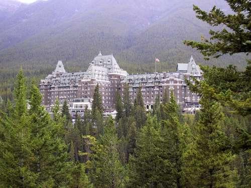Hotel Alberta Banff Canada Travel Mountain