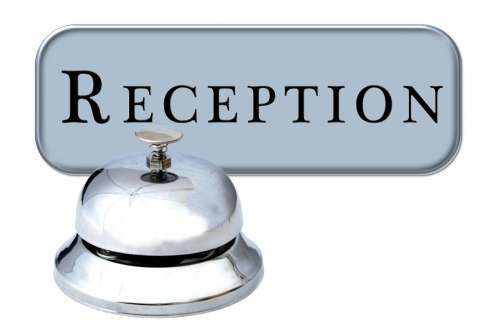 Hotel Reception Check In Registration Bell Service