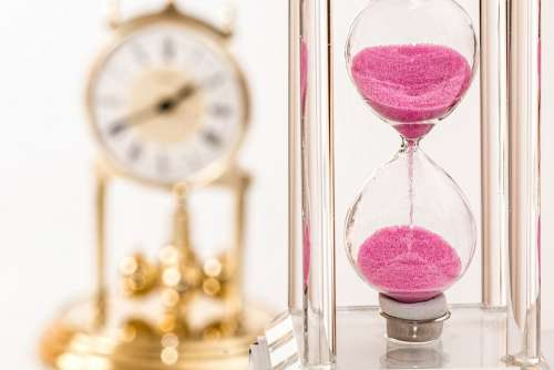 Hourglass Clock Time Deadline Hour Rush Hurry