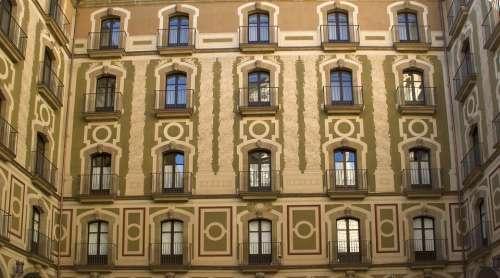 House Facade Windows