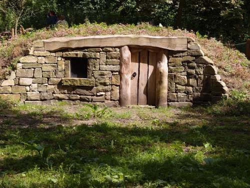 House Park Green Natural Wildlife Shelter Drystone