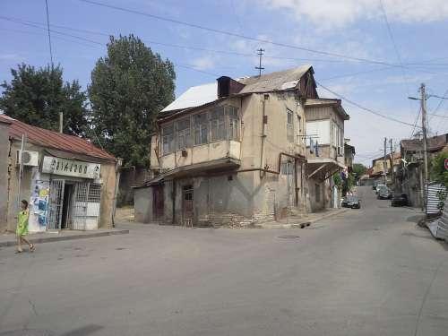 Houses Ramshackle Georgia Old Soviet Union