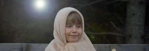 Human Child Girl Forest Light Night Dark Happy
