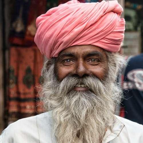 Human India Hindu Portrait Holy Man Hinduism Bart