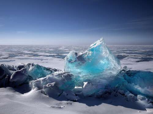 Ice Iceberg Ice Floes Winter Cold Frost Wintry