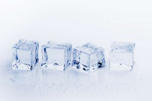 Ice Cubes Ice Water Cold Frozen Refreshment Cube