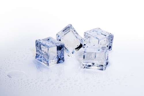 Ice Cubes Ice Cold Frozen Refreshment Cube