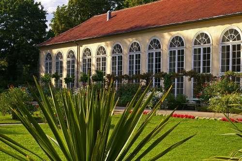 In The New Garden Potsdam Orangery